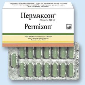 Таблетки от аденомы простаты на основе растительного сырья - пермиксон