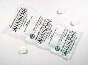 Анальгин - обезболивающее при простатите