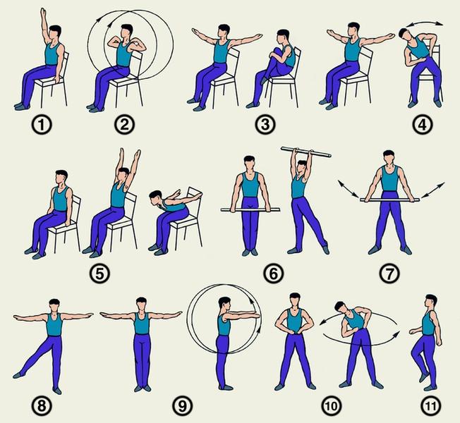 Физические упражнения при простатите - лечебная гимнастика ...